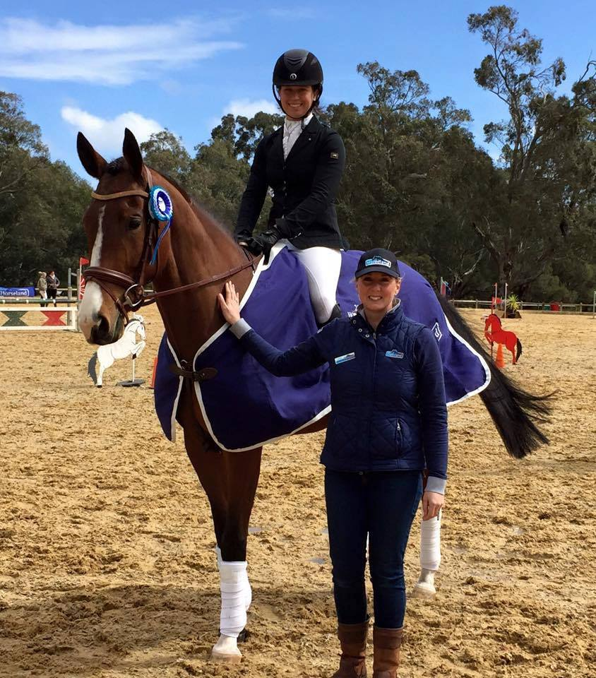 2016 5yr old WA Horseland Young Event Horse Championships.